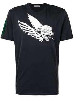 футболка с принтом тигра и короткими рукавами Givenchy