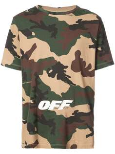 camouflage print T-shirt Off-White