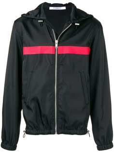 куртка с капюшоном и полосками Givenchy