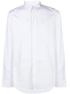 рубашка с плиссировкой Givenchy