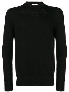 толстовка с аппликацией в виде звезд Givenchy