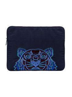 чехол для ноутбука с вышивкой тигра Kenzo