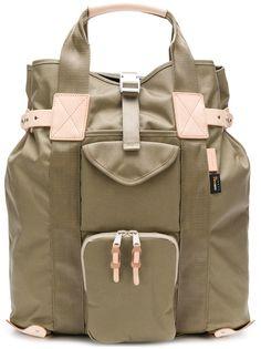 рюкзак с карманами-карго и пряжками Hender Scheme