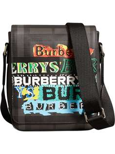 сумка через плечо с принтом Burberry