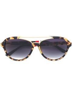 53c11df63c47 x Linda Farrow солнцезащитные очки в квадратной оправе Orlebar Brown