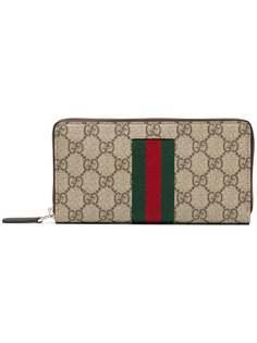 кошелек с круговой молнией Gucci