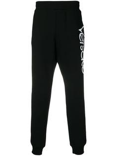 спортивные брюки с логотипом Versace