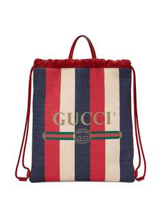 рюкзак на шнурке с принтом 'Gucci' Gucci