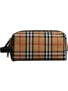 сумка в клетку 'Vintage' Burberry