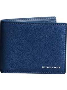 зернистый бумажник Burberry