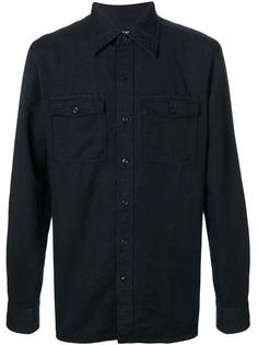 """рубашка на пуговицах в стиле """"милитари"""" Tom Ford"""