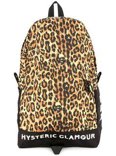 рюкзак с леопардовым принтом Hysteric Glamour