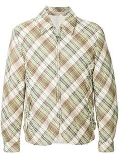 дутая куртка в клетку Comme Des Garçons Vintage