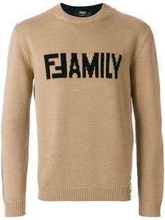 свитер 'Family' Fendi