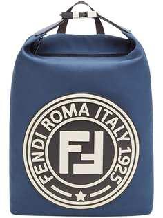 рюкзак с крупной нашивкой Fendi