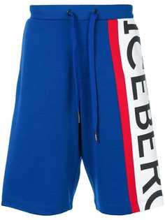 спортивные шорты с логотипом Iceberg