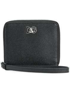 кошелек с логотипом бренда Dolce & Gabbana
