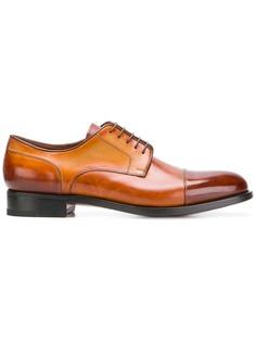 классические туфли-оксфорды Santoni