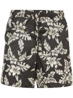 шорты с цветочным принтом Moncler
