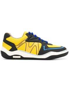 текстурированные кроссовки Lanvin