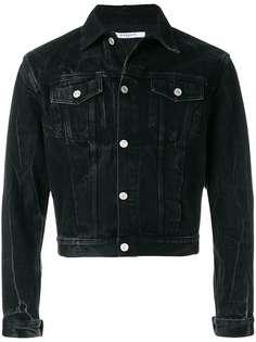 джинсовая куртка узкого кроя Givenchy