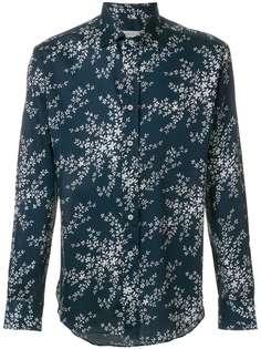 рубашка свободного кроя с лиственным принтом Etro