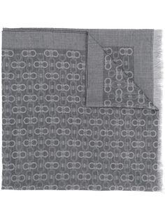 шарф с бахромой 'Gancio' Salvatore Ferragamo