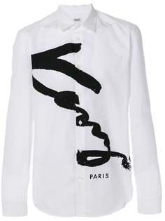 классическая рубашка с логотипом Kenzo