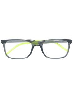 очки в прямоугольной оправе Dolce & Gabbana Eyewear