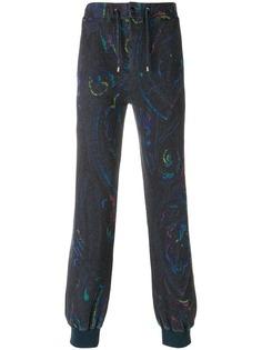 спортивные брюки с принтом пейсли Etro