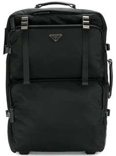 чемодан с логотипом Prada