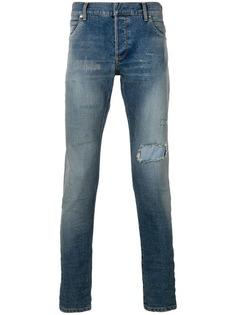 """джинсы """"скинни"""" с выцветшим эффектом Balmain"""