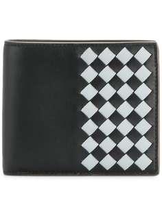 кошелек 'Intercciato' с узором в шахматную клетку Bottega Veneta