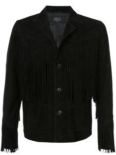 куртка с отделкой бахромой Garcons  Infideles