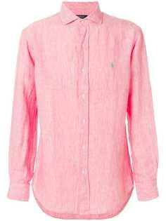 рубашка с длинными рукавами с тканым эффектом Polo Ralph Lauren
