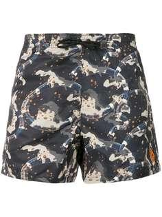камуфляжные шорты для плавания Marcelo Burlon County Of Milan
