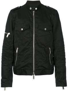 multi pockets zip up jacket Dsquared2
