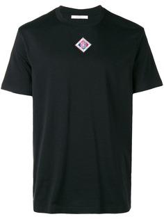 однотонная футболка Givenchy