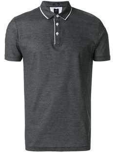рубашка-поло с контрастной окантовкой Boss Hugo Boss