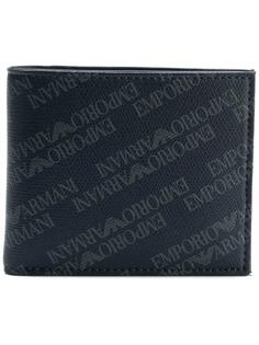 кошелек с логотипами Emporio Armani