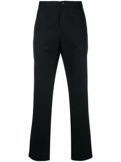 саржевые брюки прямого кроя Gucci
