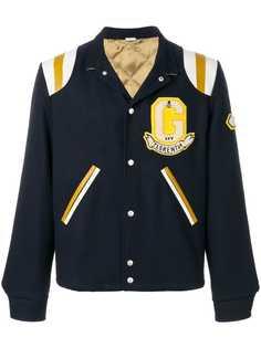 куртка-бомбер с вышивкой Gucci