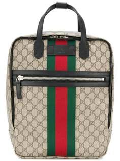 рюкзак 'GG Supreme' с полоской Web Gucci