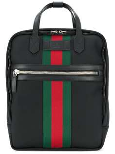 рюкзак с полоской Web Gucci