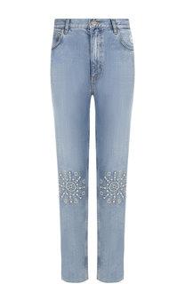 Джинсы прямого кроя с декоративной отделкой MiH Jeans
