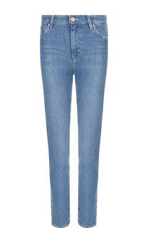 Джинсы прямого кроя с потертостями MiH Jeans
