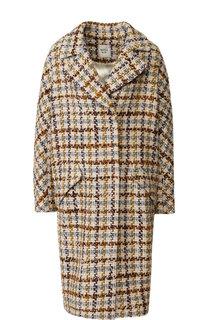 Вязаное пальто с отложным воротником Weill