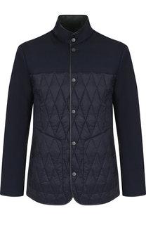 Двусторонняя куртка на молнии с воротником-стойкой Z Zegna