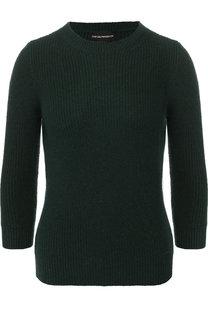 Вязаный пуловер с укороченным рукавом Emporio Armani