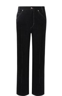 Укороченные джинсы с контрастной прострочкой Isabel Marant